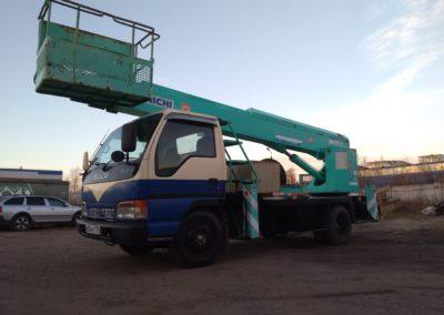 Услуги японской телескопической автовышки 22м в Ярославле