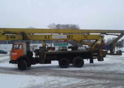 Услуги коленчатой автовышки 28 м в Ярославле