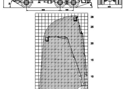 Схема автовышки ПСС 141.28Э