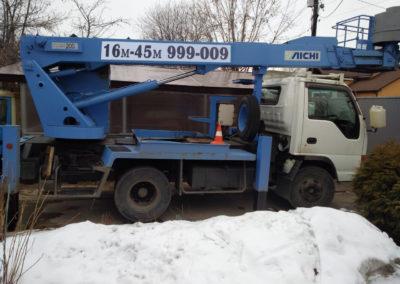 Аренда японской автовышки 16 метров  Aichi SH140 в Ярославле